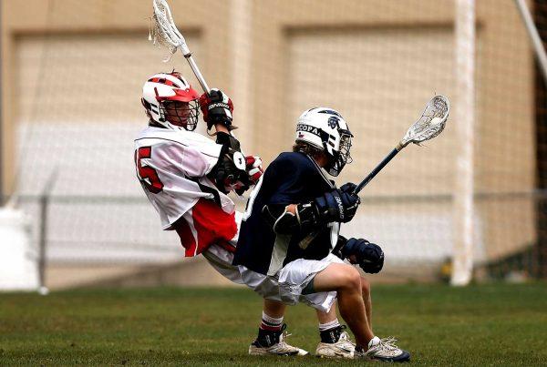 guys playin lacrosse